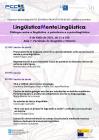 Cartel LingüísticaMenteLingüística. Diálogos entre a lingüística, a psicoloxía e a psicolingüística
